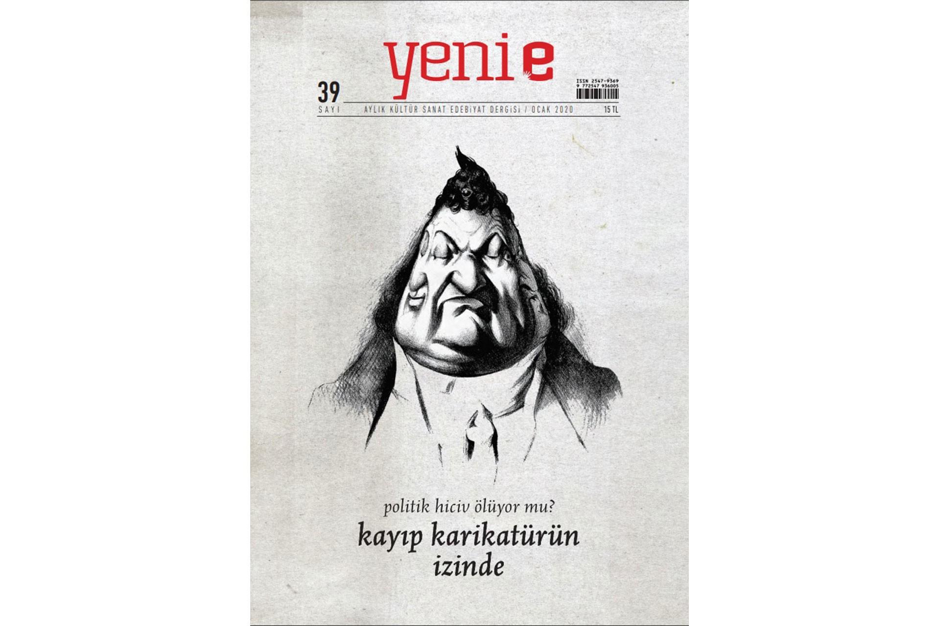Yeni e'nin Ocak 2020 sayısının kapağı
