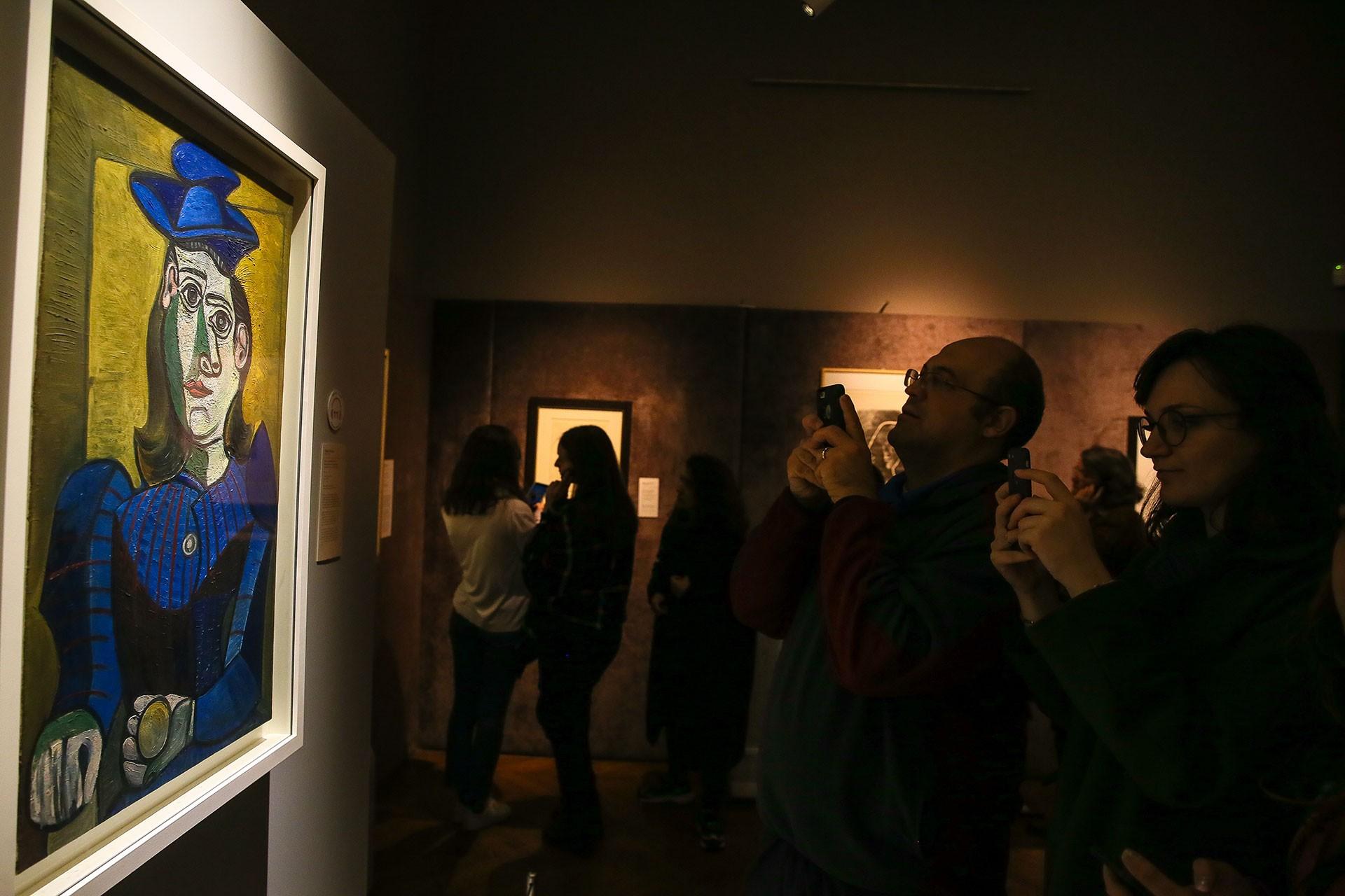 İzmir Picasso: Gösteri Sanatı sergisi ziyareti.