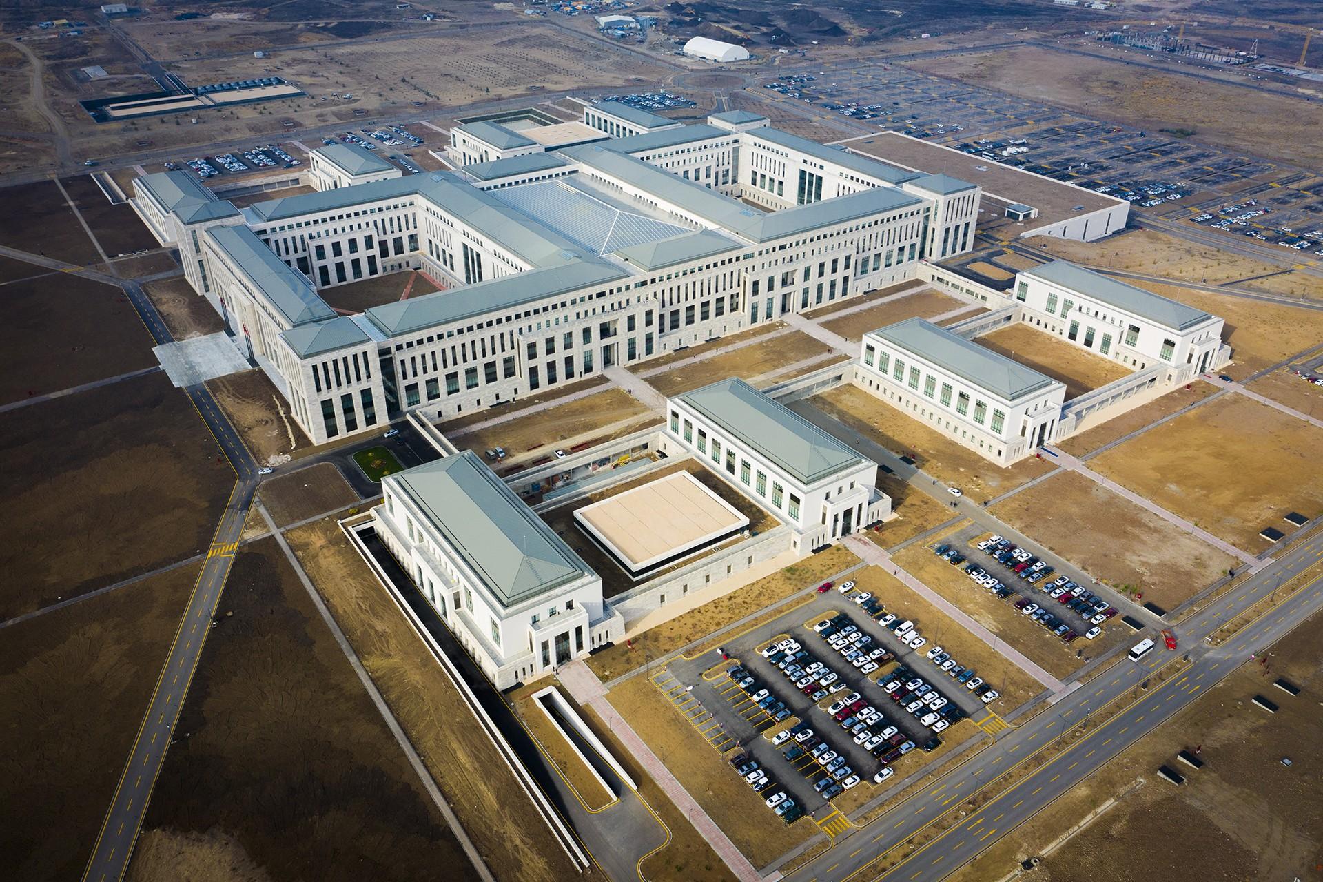 Milli İstihbarat Teşkilatı Başkanlığının Etimesgut'taki binası