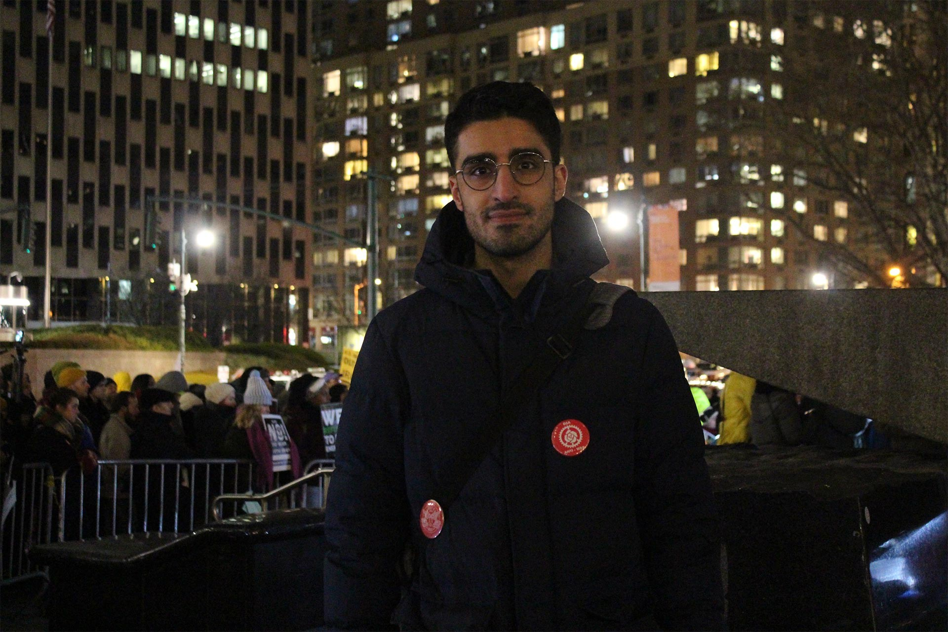 Savaş Karşıtı Çalışma Grubu'ndan Sepehr Makaremi