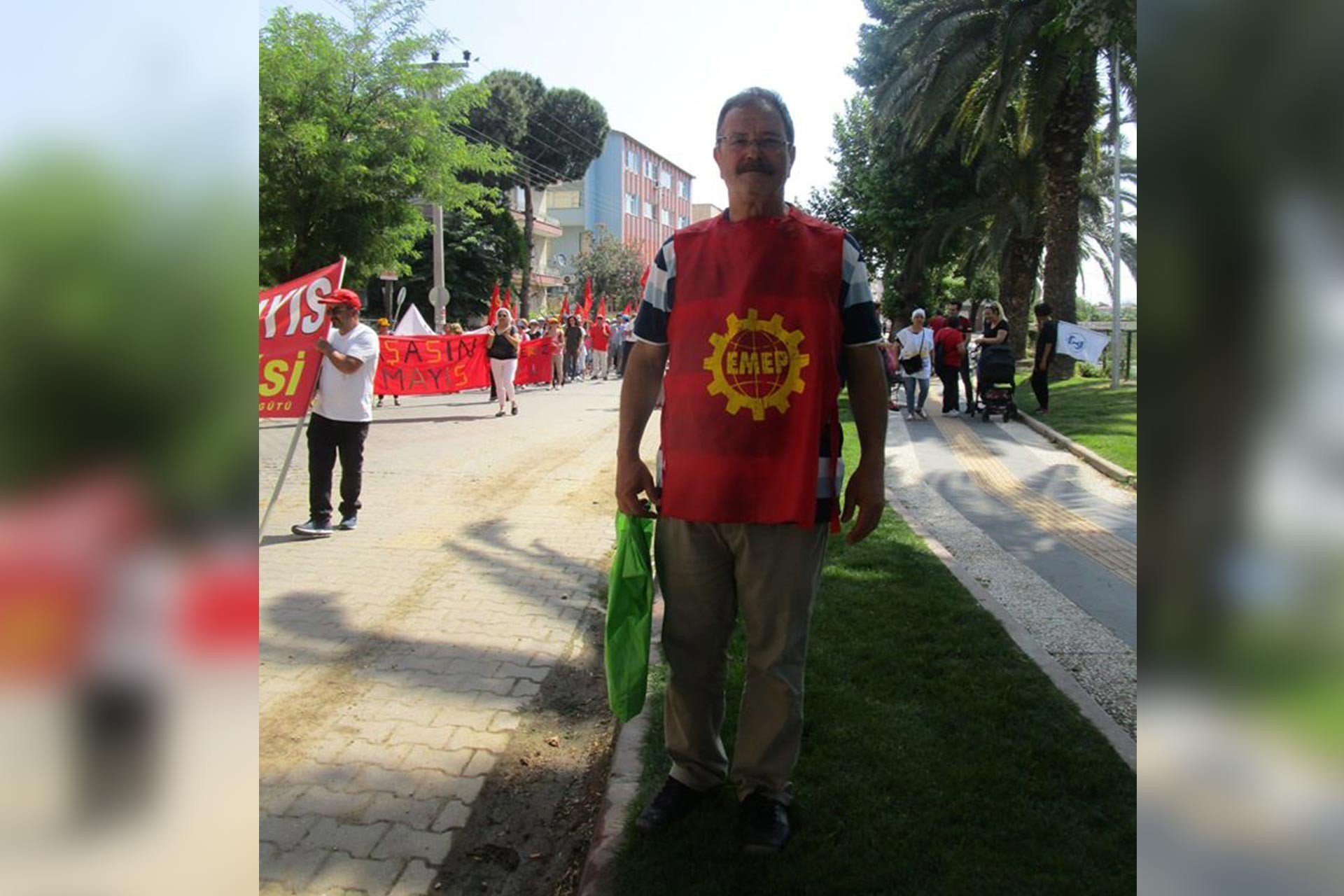 Emek Partisi Edremit ilçe yöneticisi Mehmet Tank