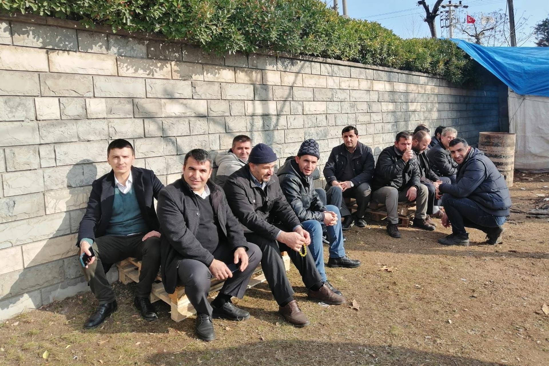 Grevdeki Trelleborg işçileri