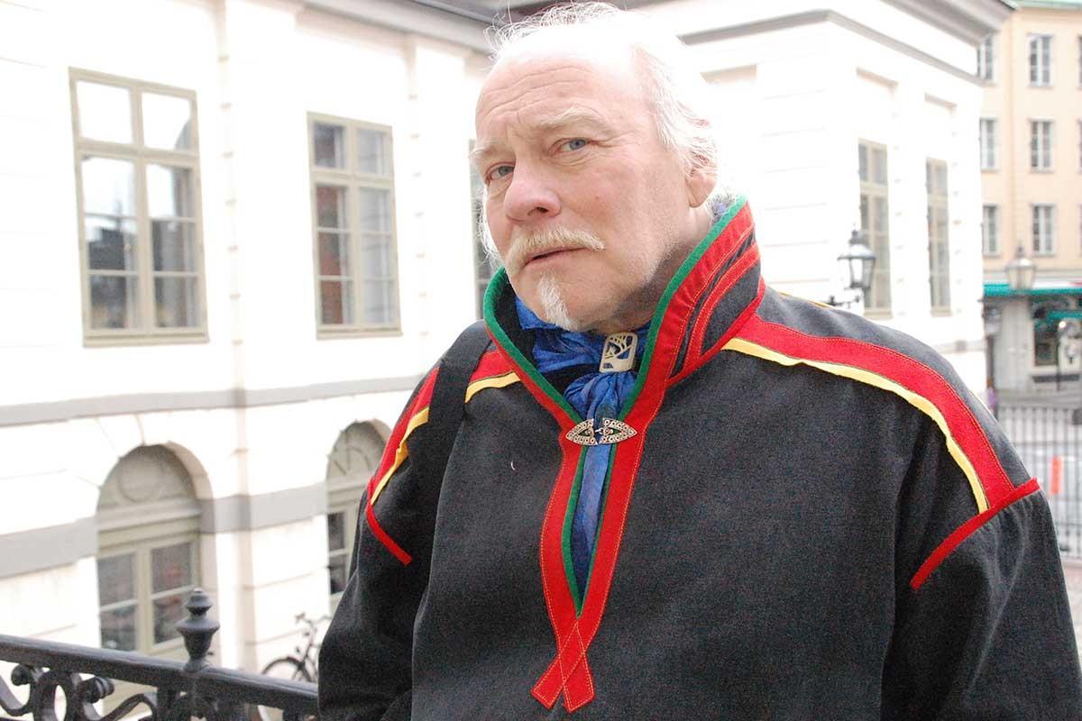 Girjas Köyü Başkanı Matti Berg.