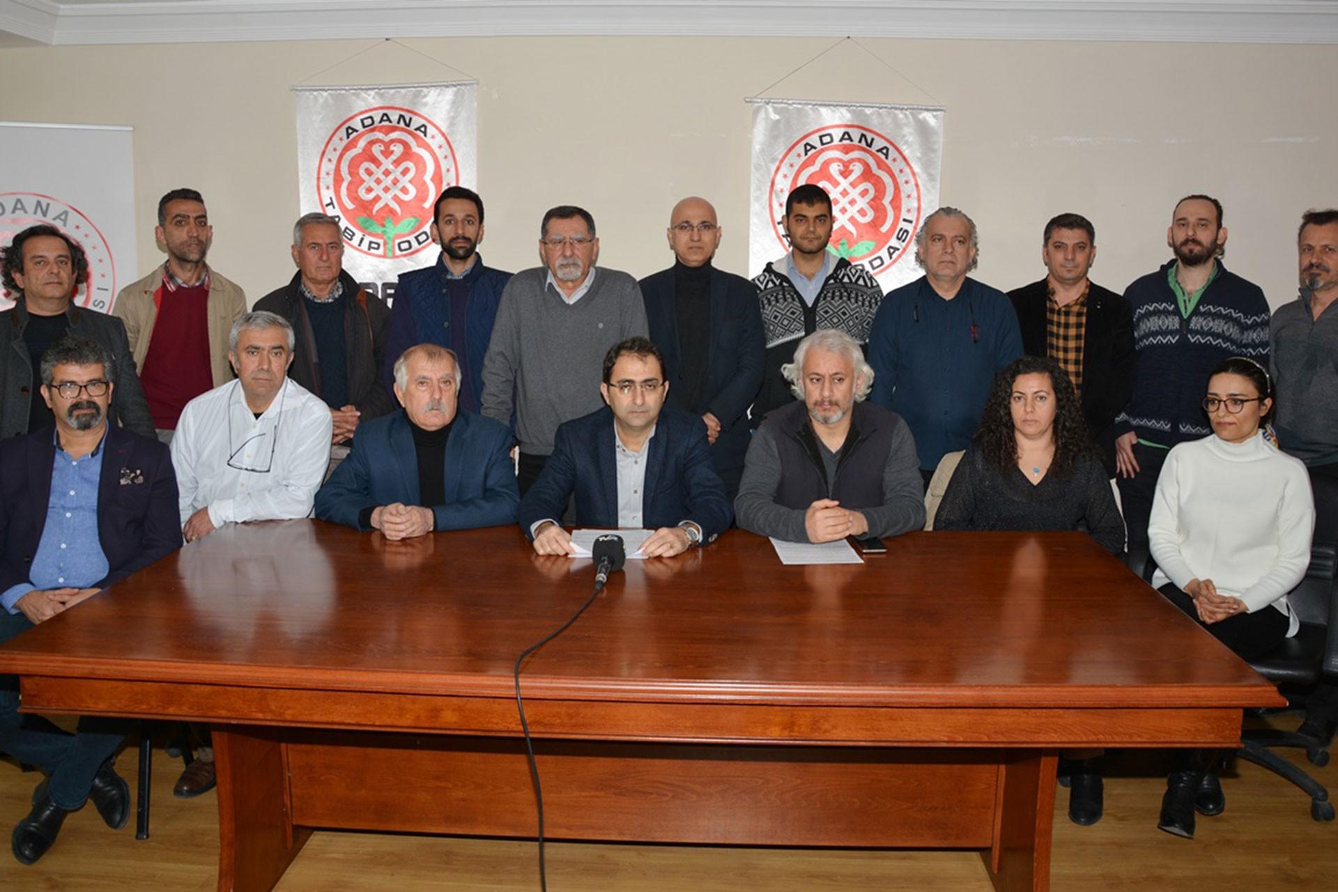Adana Tabip Odası üyeleri