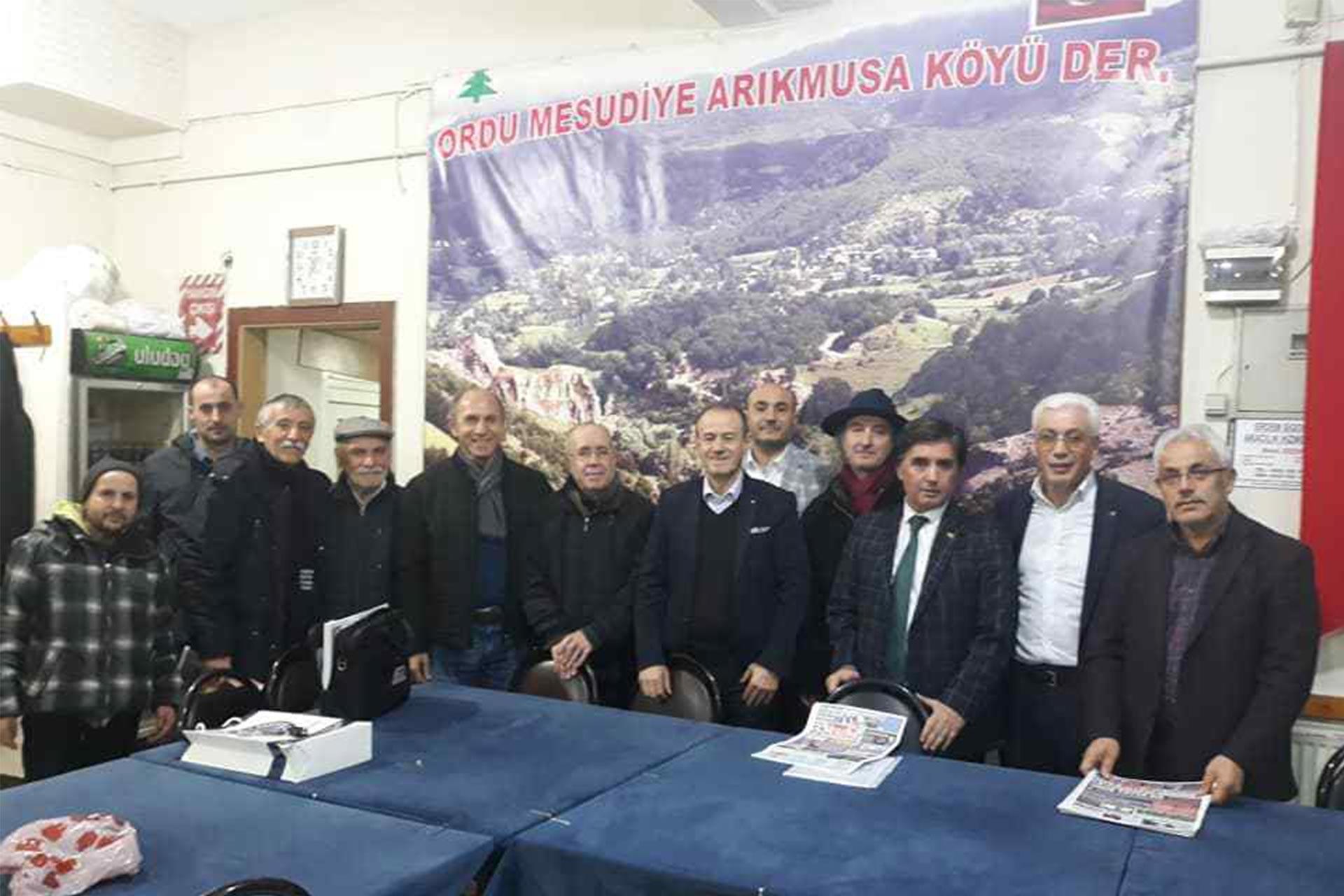 Mesudiyeliler köylerine yapılmak istenen HES projesine tepki gösterdi