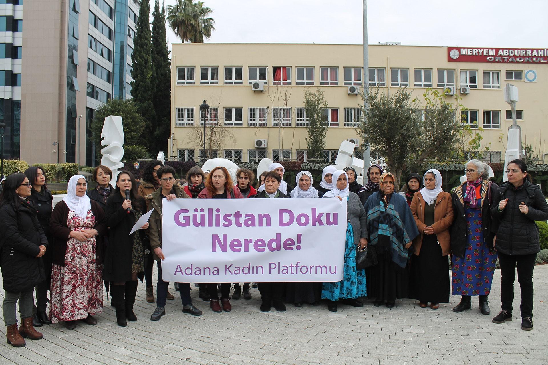 Adana'daki Gülistan Doku eylemi