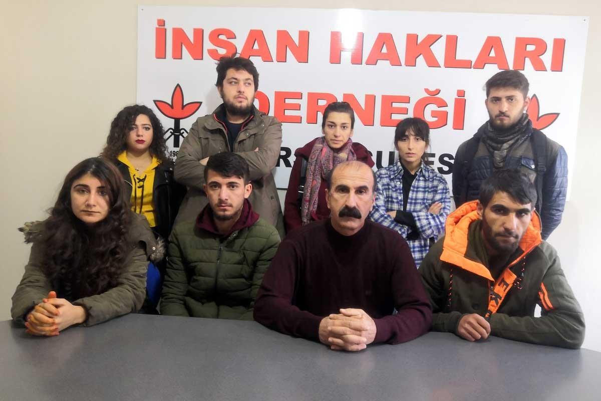 Gülistan Doku eylemine katıldıkları için polisler tarafından tehdit edildiklerini anlatan öğrenciler.