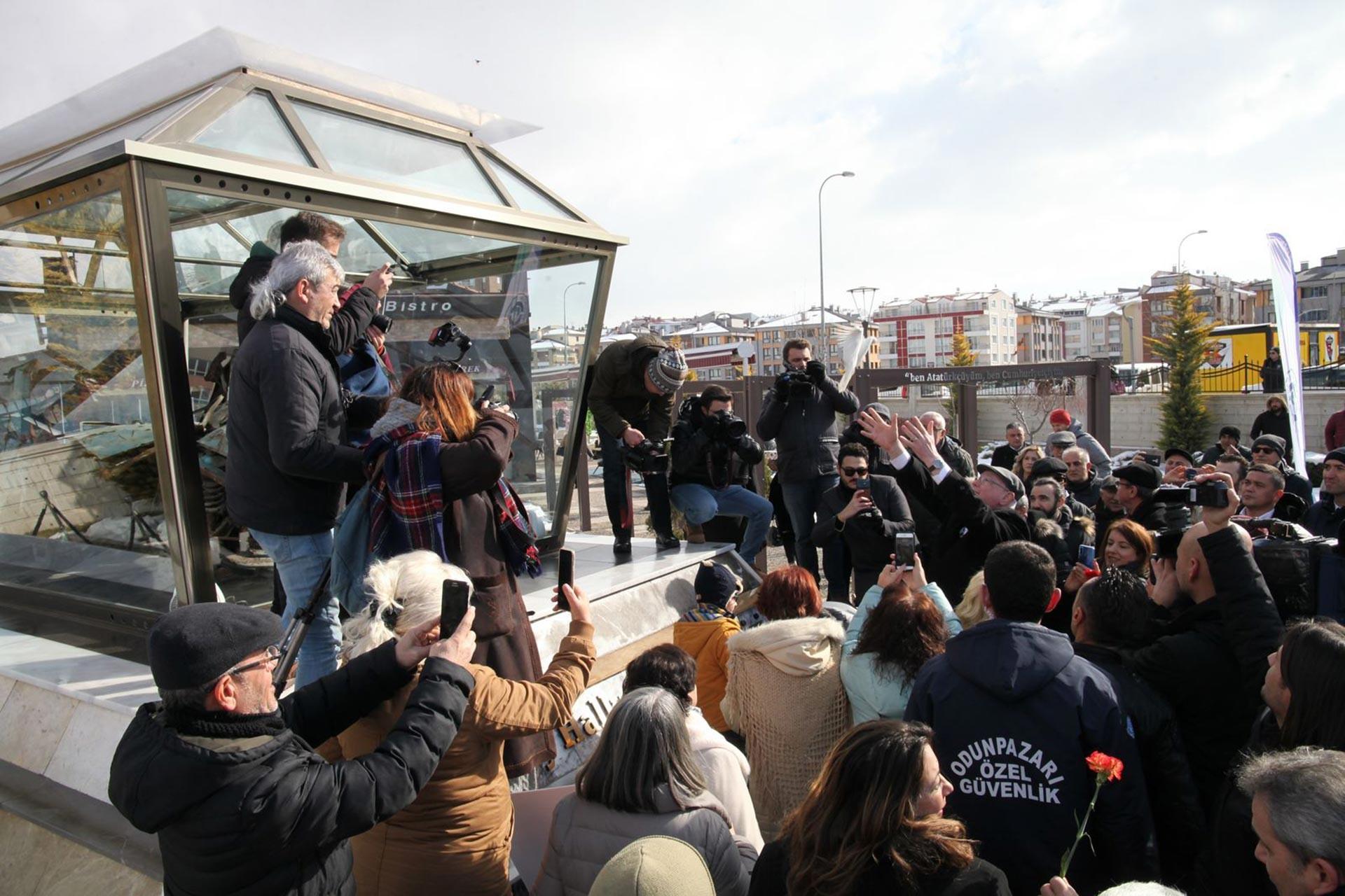 Uğur Mumcu, Eskişehir Odunpazarı'nda düzenlenen etkinlikle anıldı