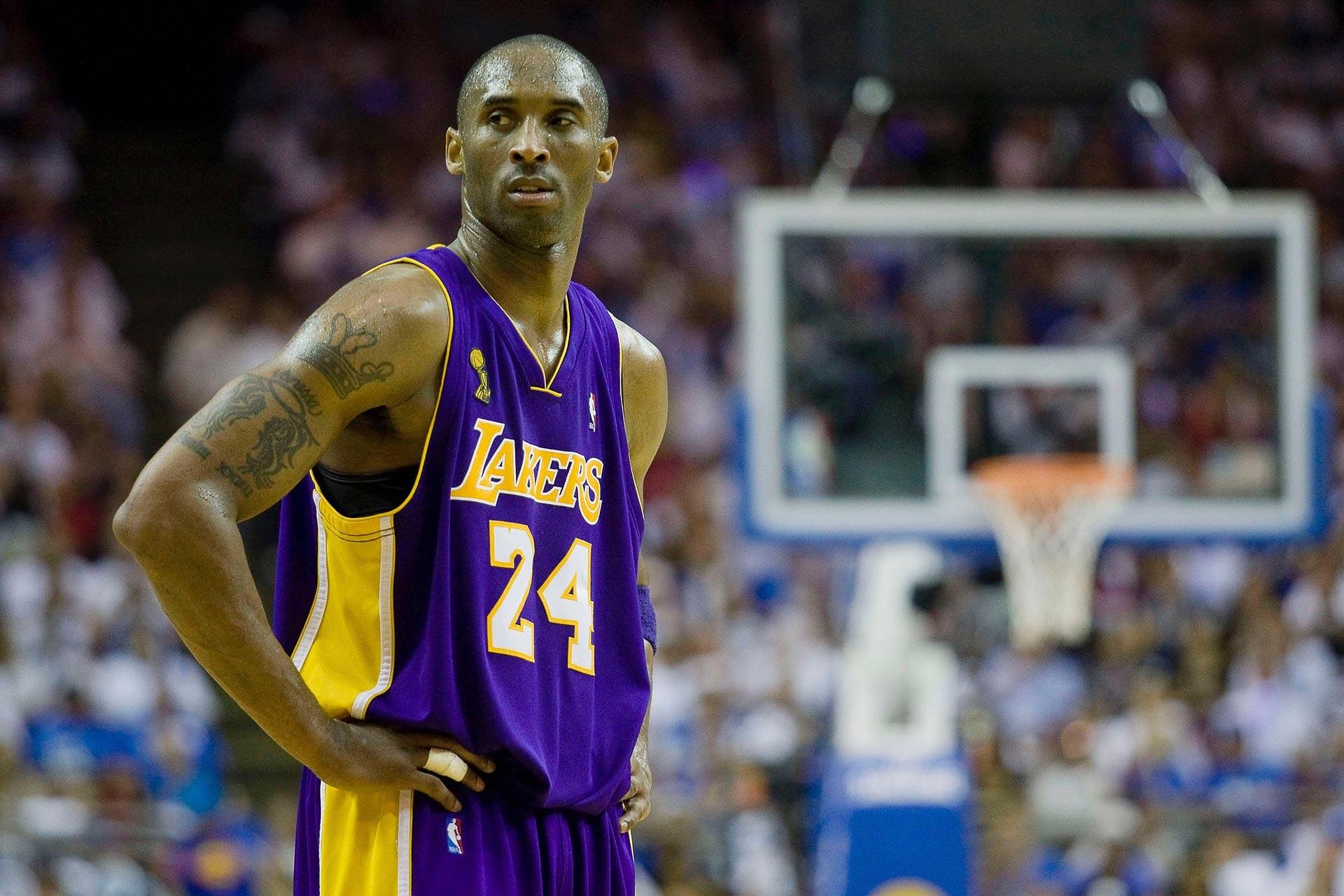 Kobe Bryant, Los Angeles Lakers forması ile çıktığı bir maçta
