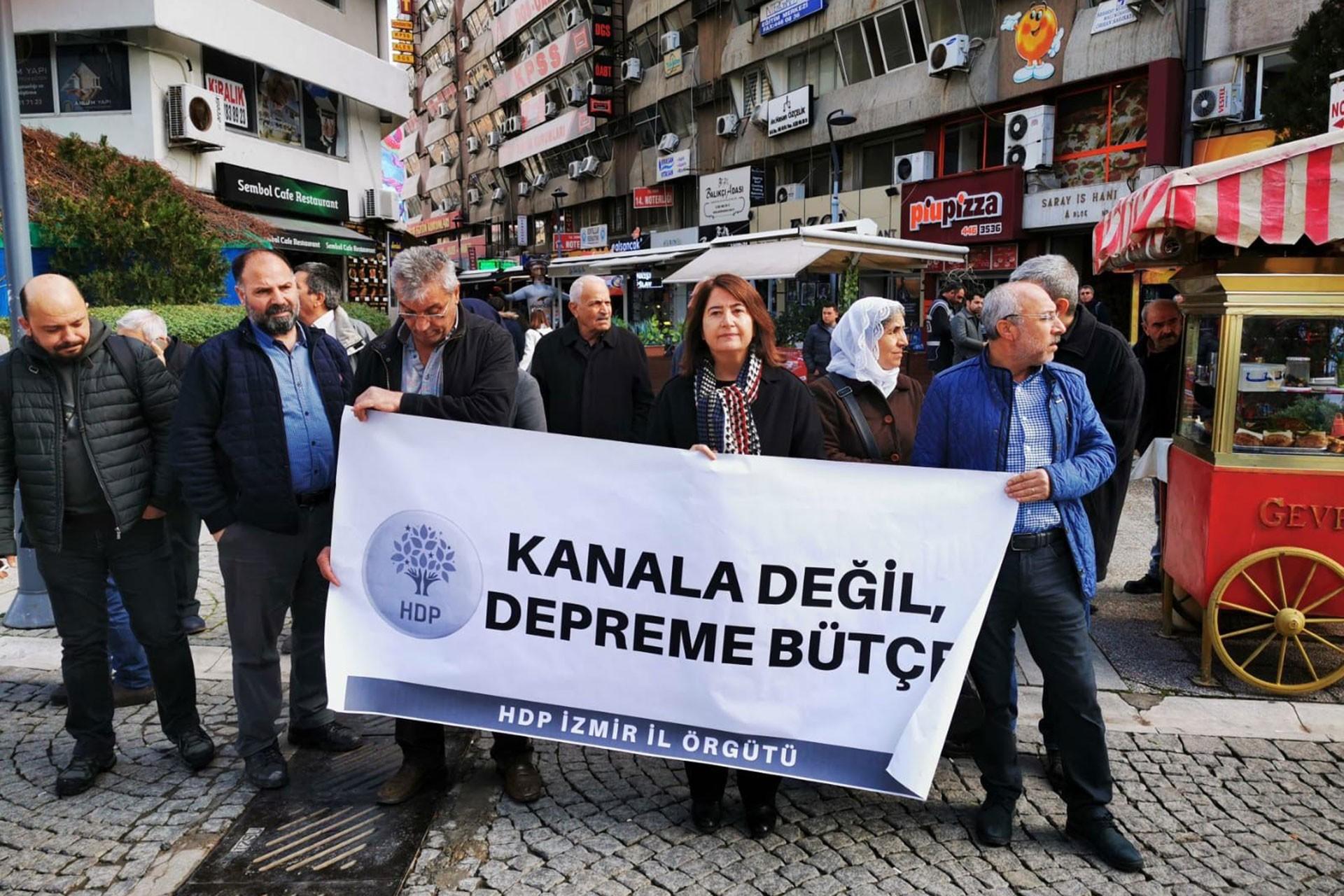HDP'den depremzedeler için dayanışma çağrısı