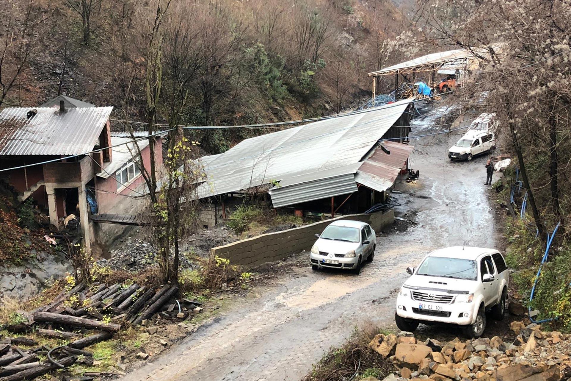 Zonguldak'ın Kilimli ilçesinde kaçak maden ocağı