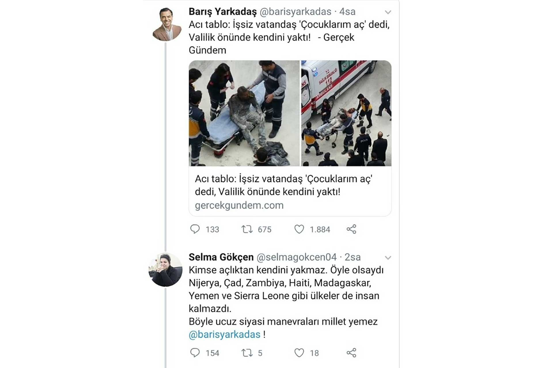 AKP'li Selma Gökçen'in skandal paylaşımı