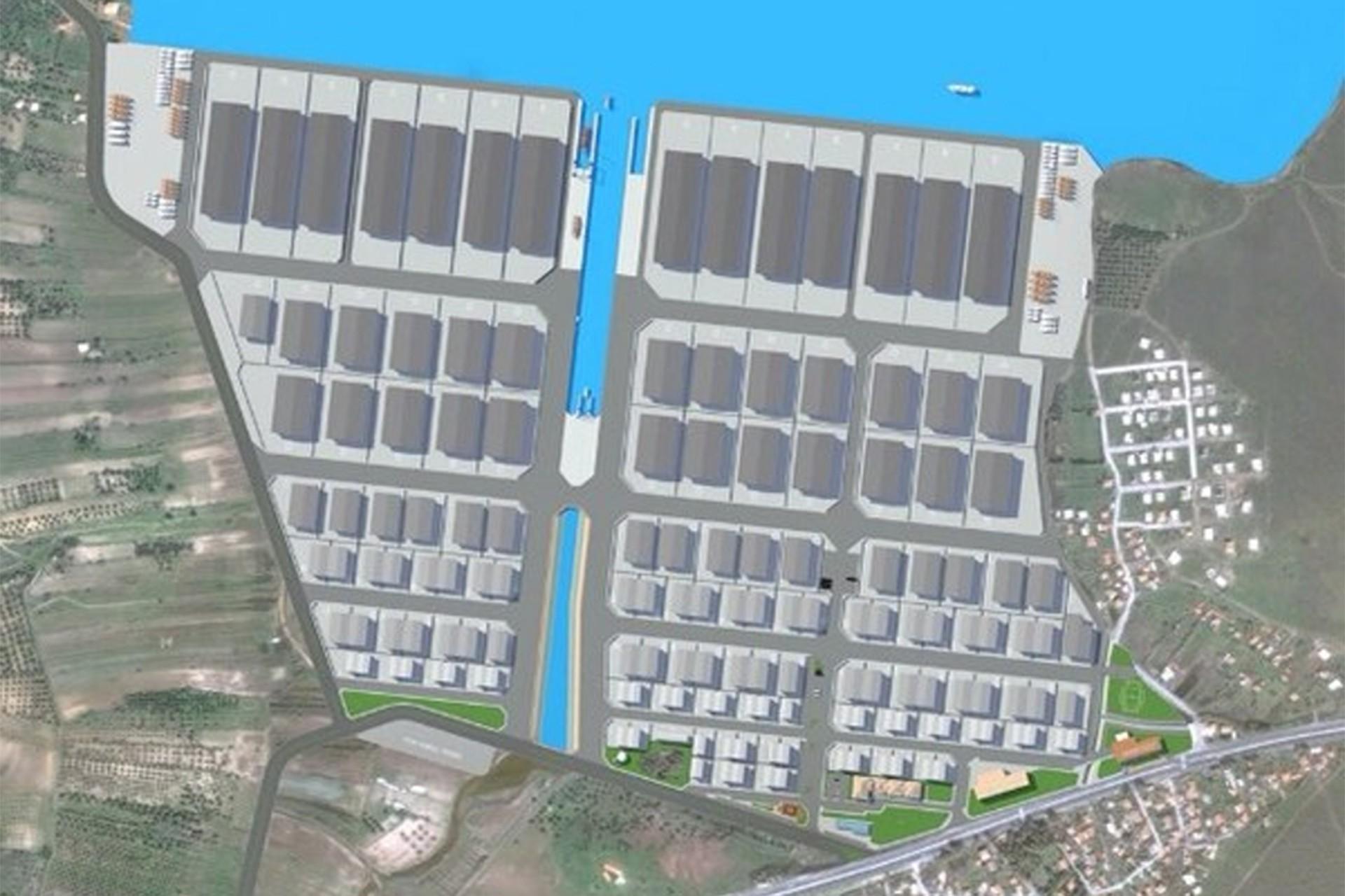 Çaltılıdere'ye yapılmak istenen yat imalat tesisi projesi