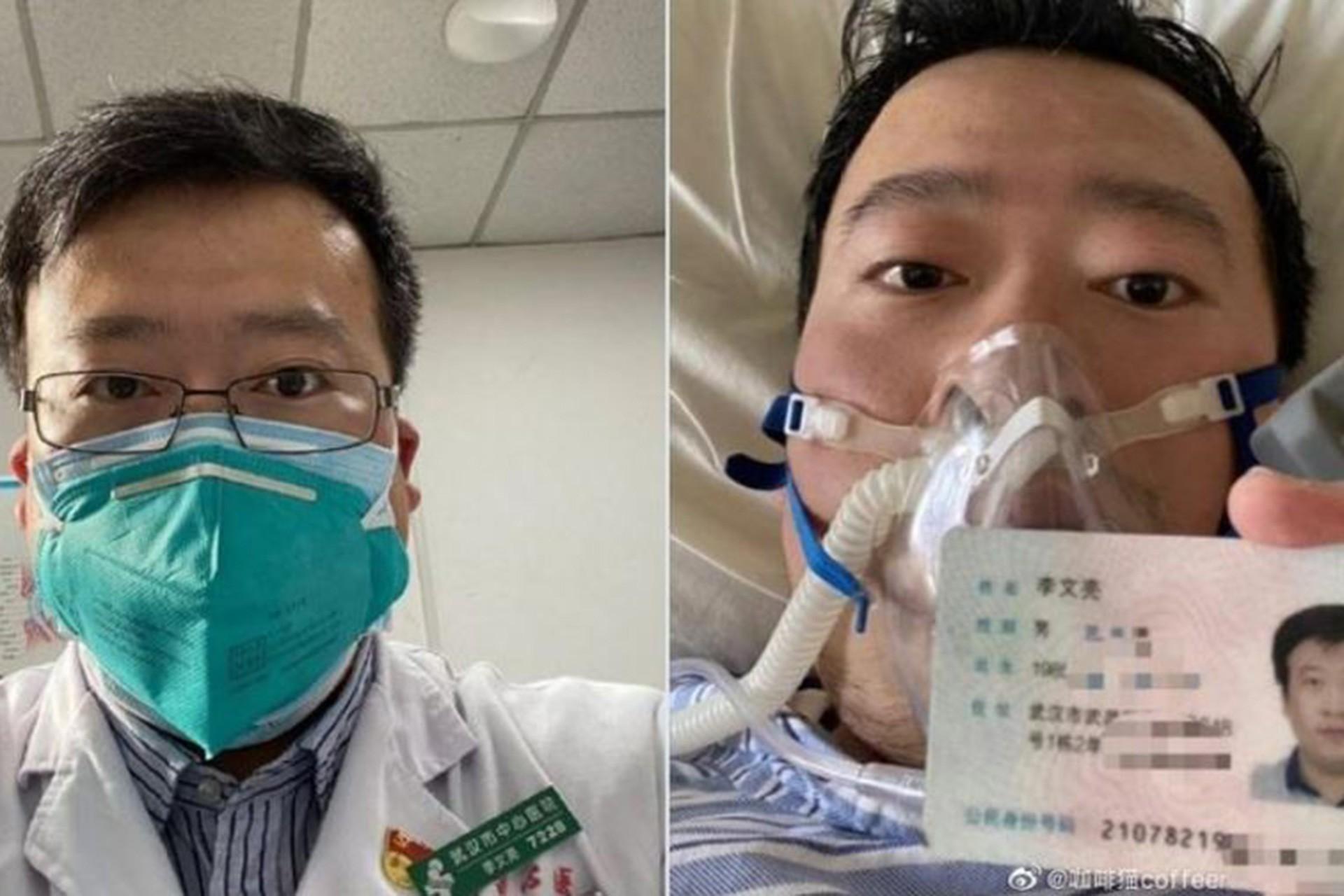 Salgında hayatını kaybeden genç Doktor Li Wenliang