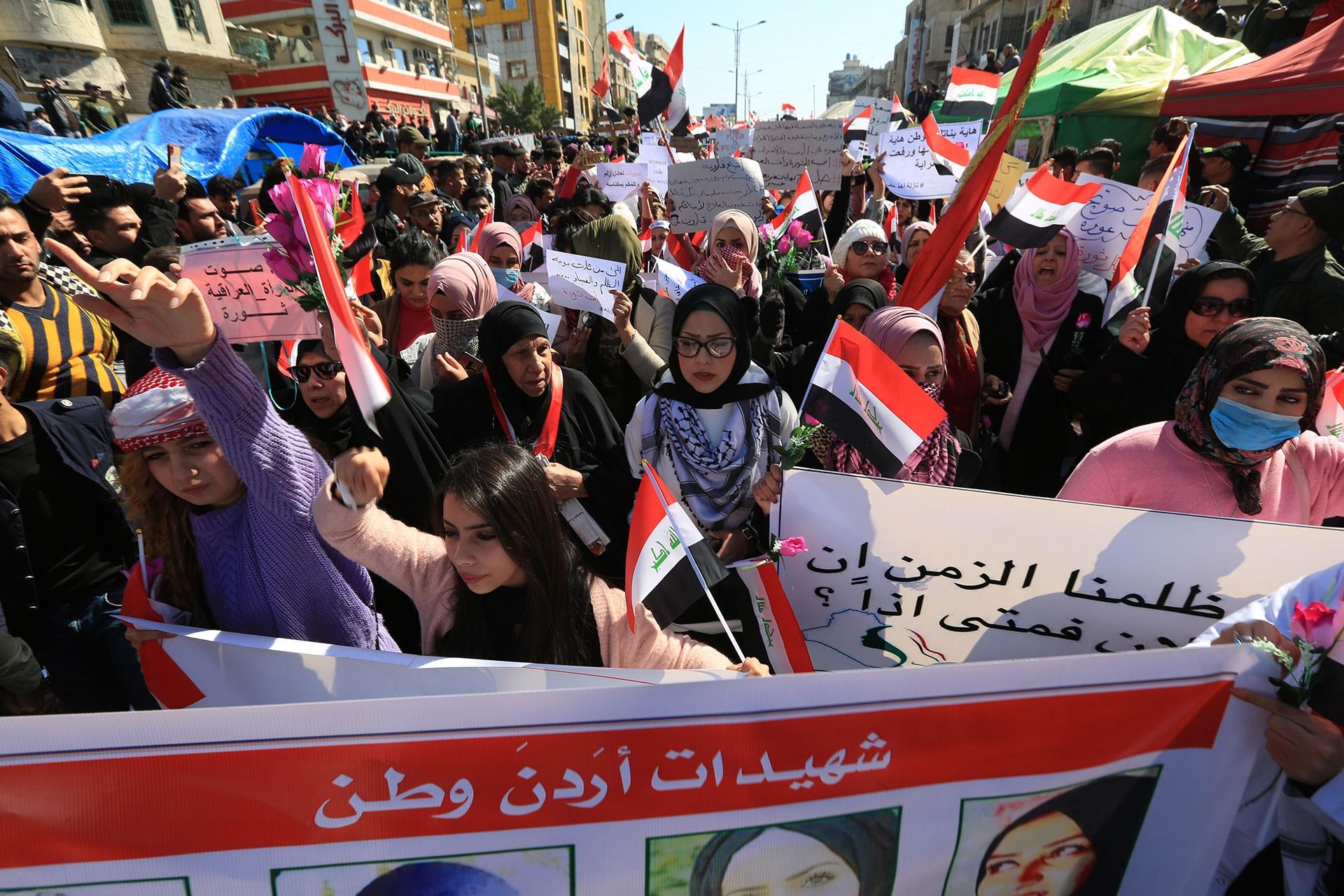 Iraklı kadınlar