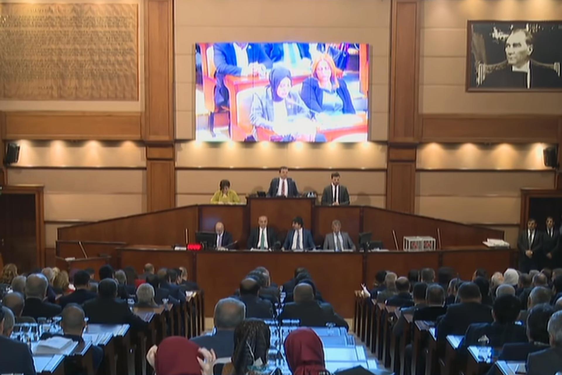İBB Meclisi şubat ayı 1. oturumu
