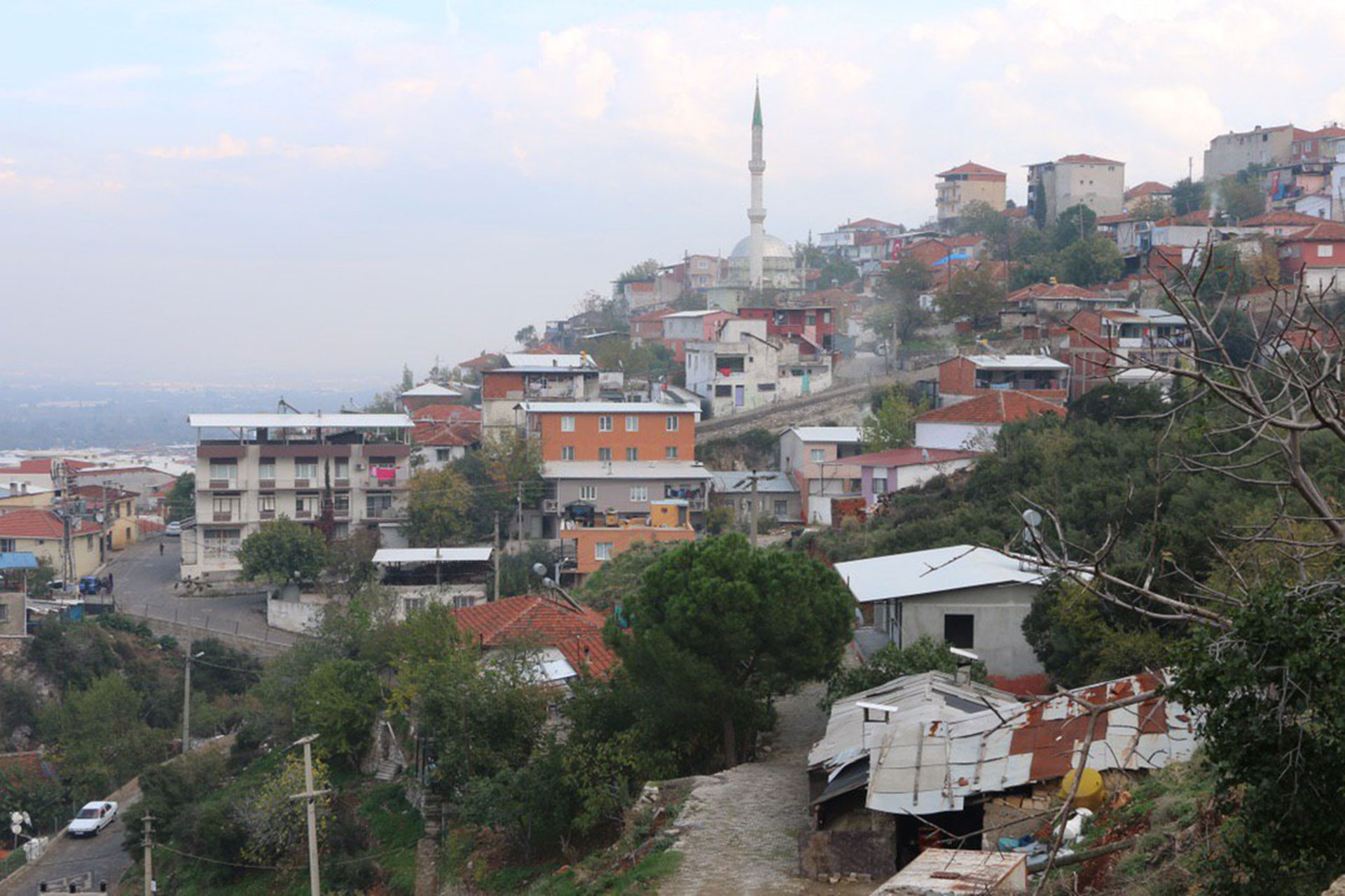 İzmir'in Kemalpaşa ilçesinde riskli alan ilan edilen yer