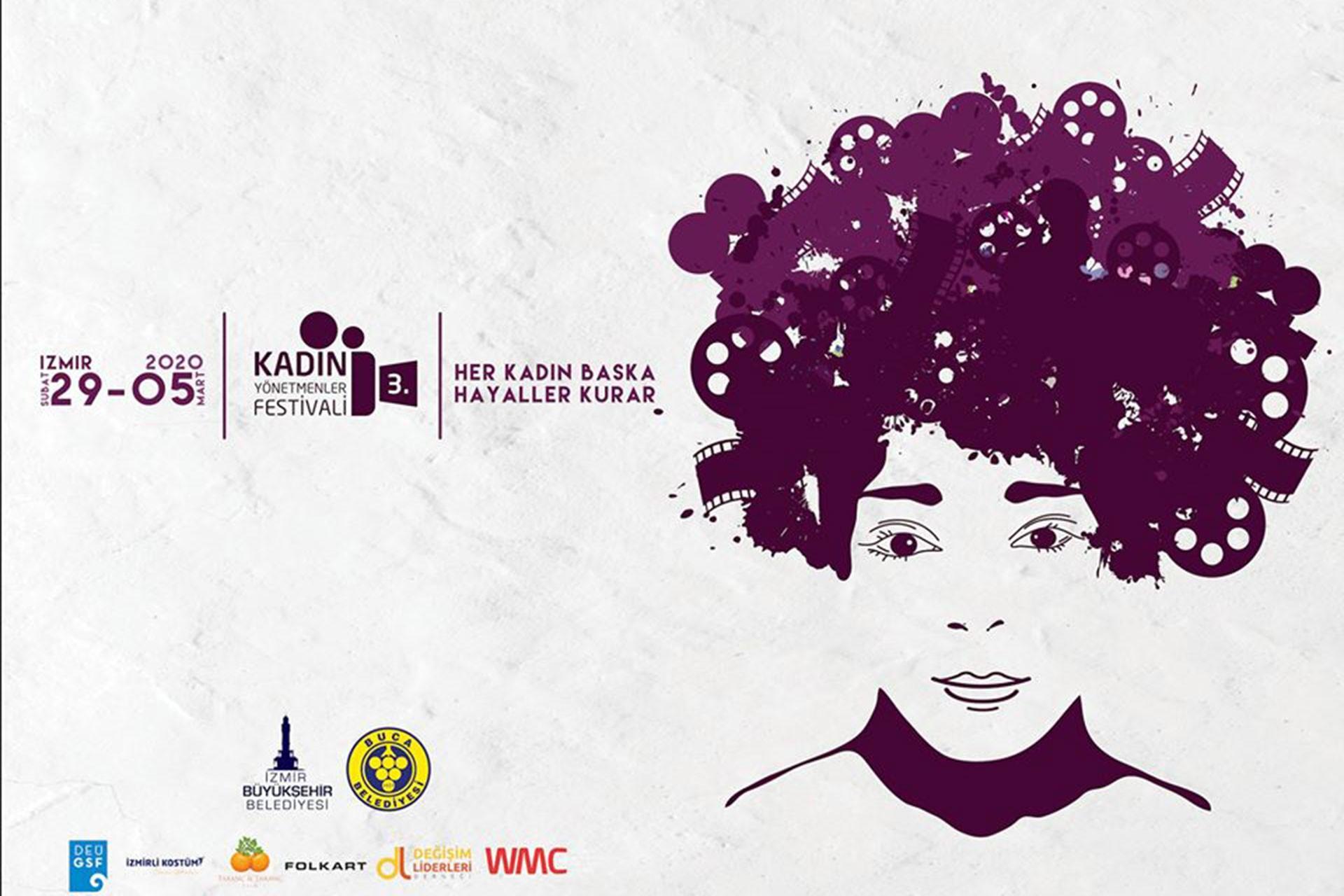 3. Kadın Yönetmenler Festivali afişi