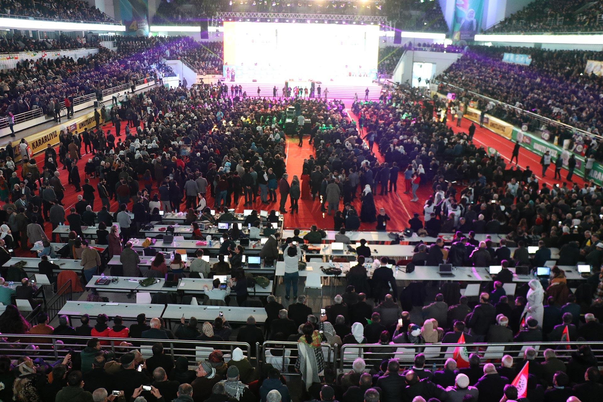 HDP'nin 4'üncü olağan kongresinden bir fotoğraf.