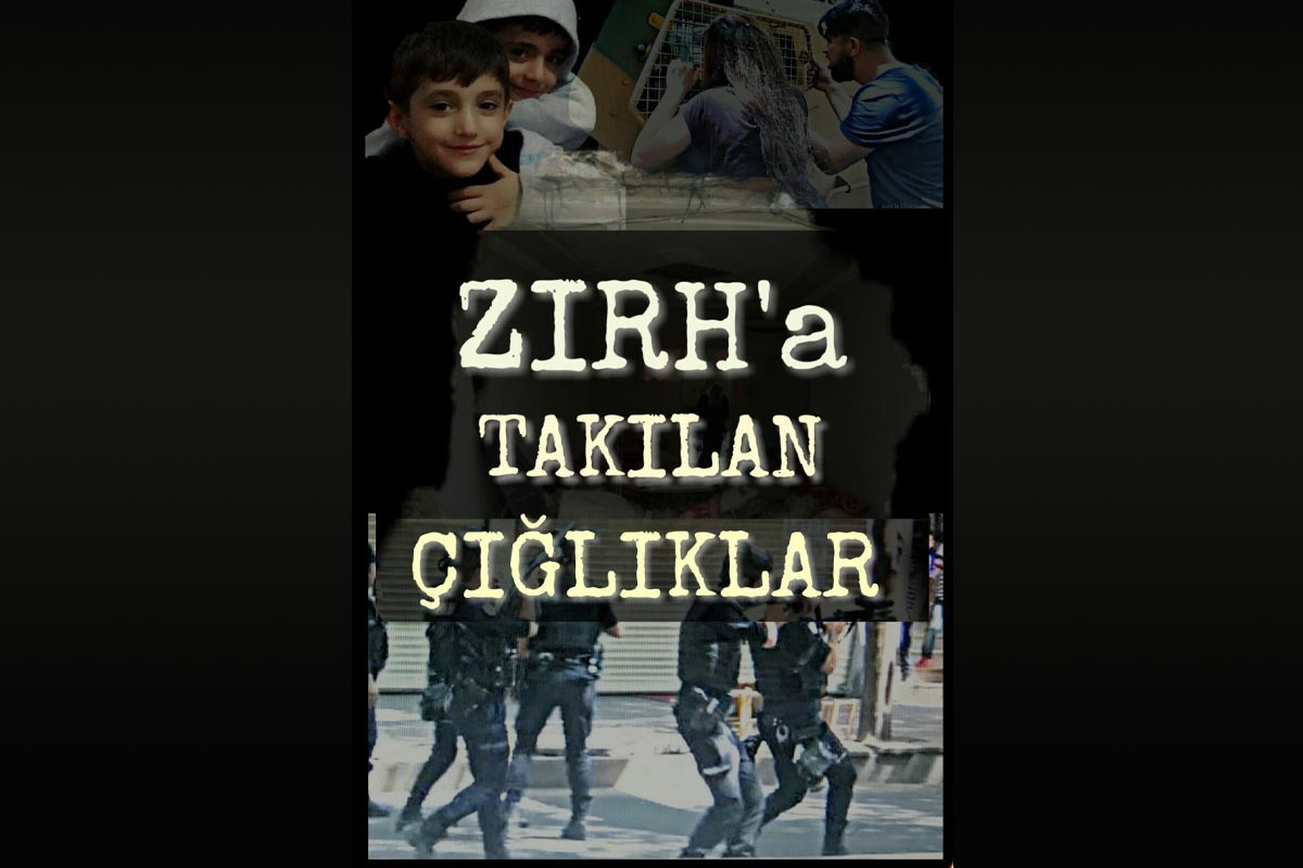 Zırh'a Takılan Çığlıklar belgesel afişi