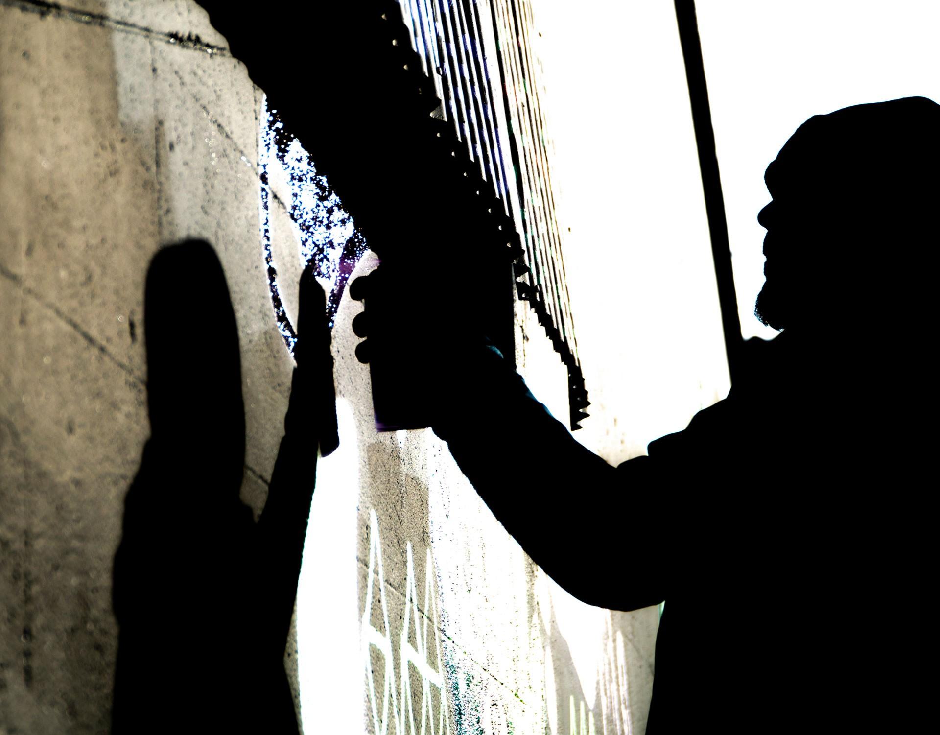 Graffiti çalışması