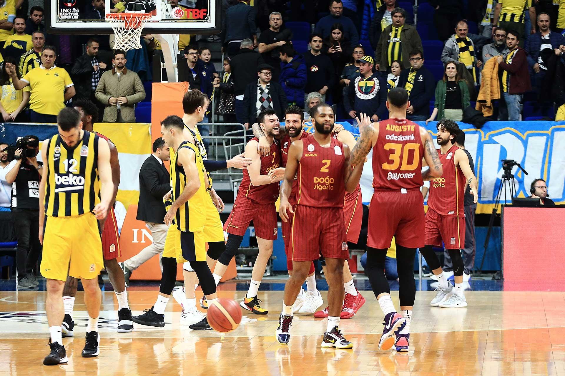 26 Şubat 2020 tarihli Fenerbahçe-Gatasaray basketbol maçı
