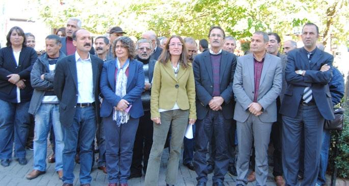 HDP'ye saldırı Dersim'de kınandı
