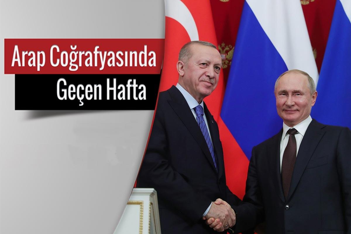 (soldan sağa) Recep Tayyip Erdoğan ve Vladimir Putin