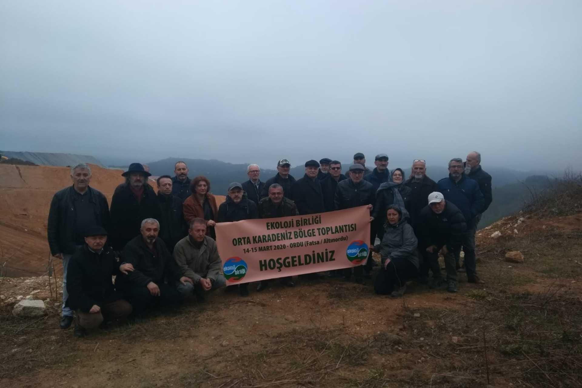 Ekoloji Birliği Orta Karadeniz Bölge Toplantısını Fatsa ve Altınordu'da gerçekleştirdi