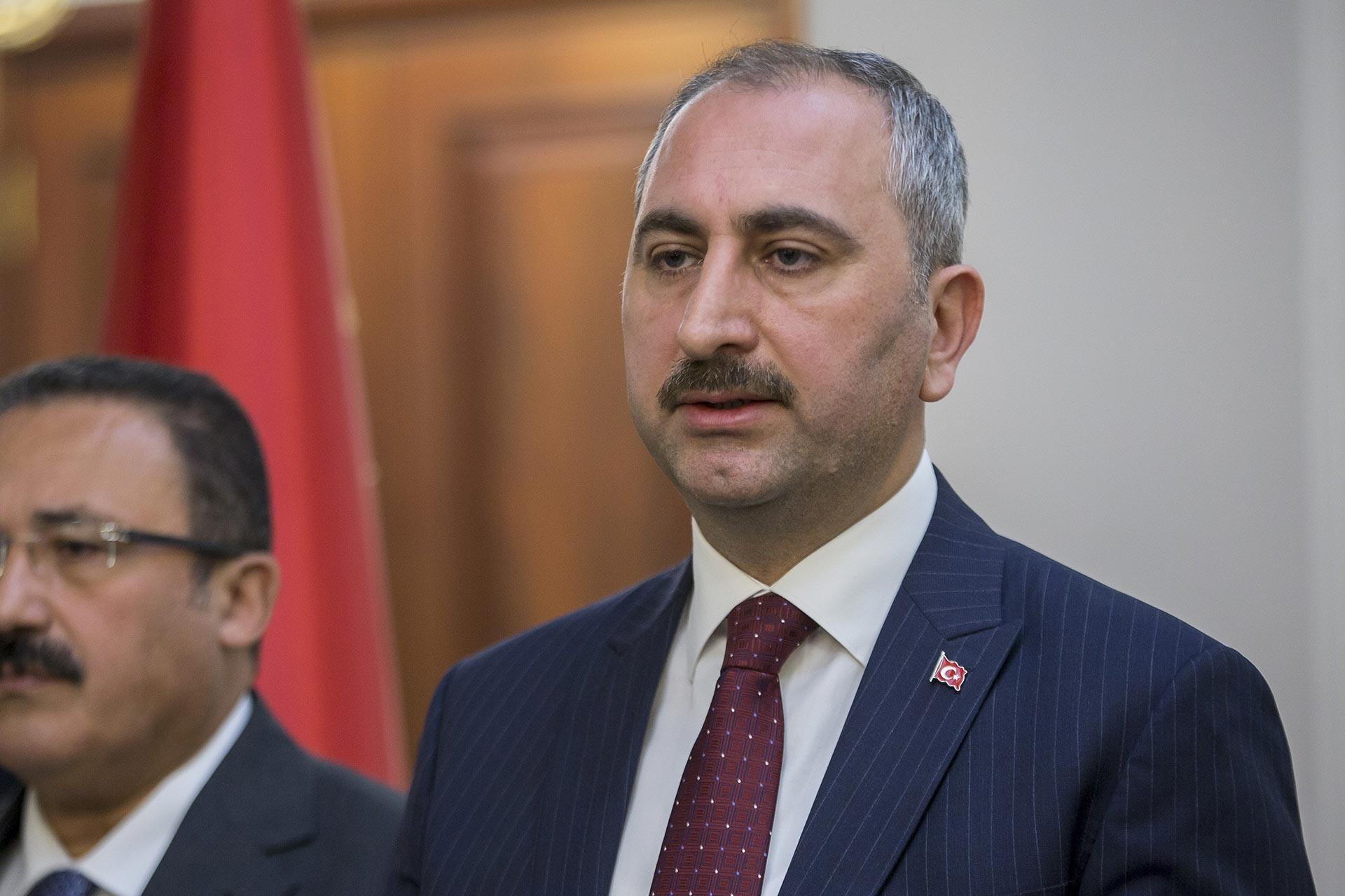 Adalet Bakanı Abdülhamit Gül.