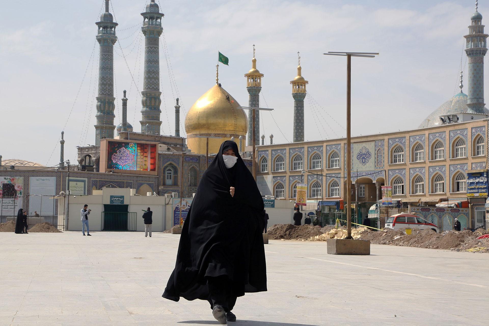 İranlı bir kadın