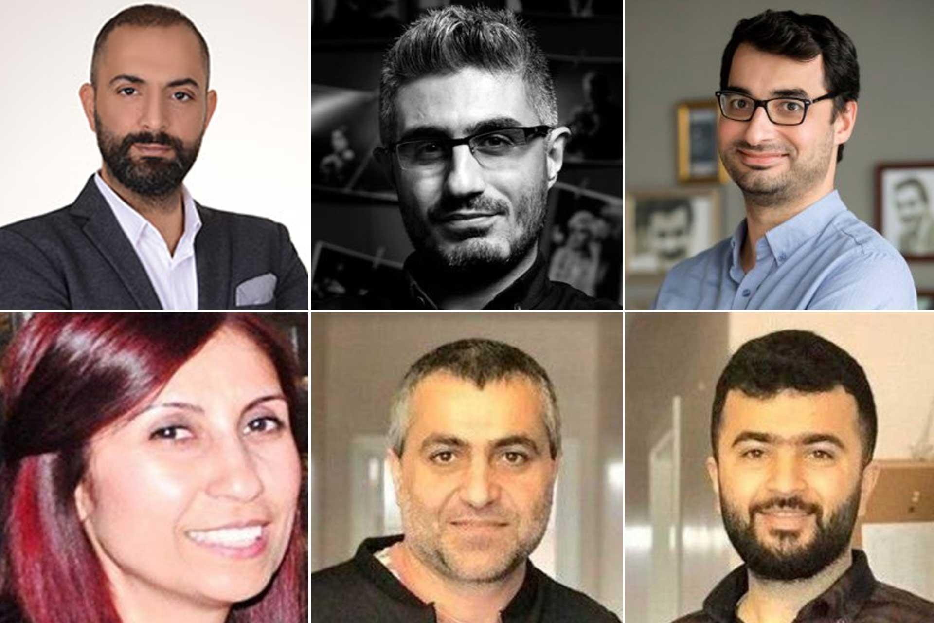 Ferhat Çelik, Aydın Keser, Barış Pehlivan, Barış Terkoğlu, Hülya Kılınç ve Murat Ağırel