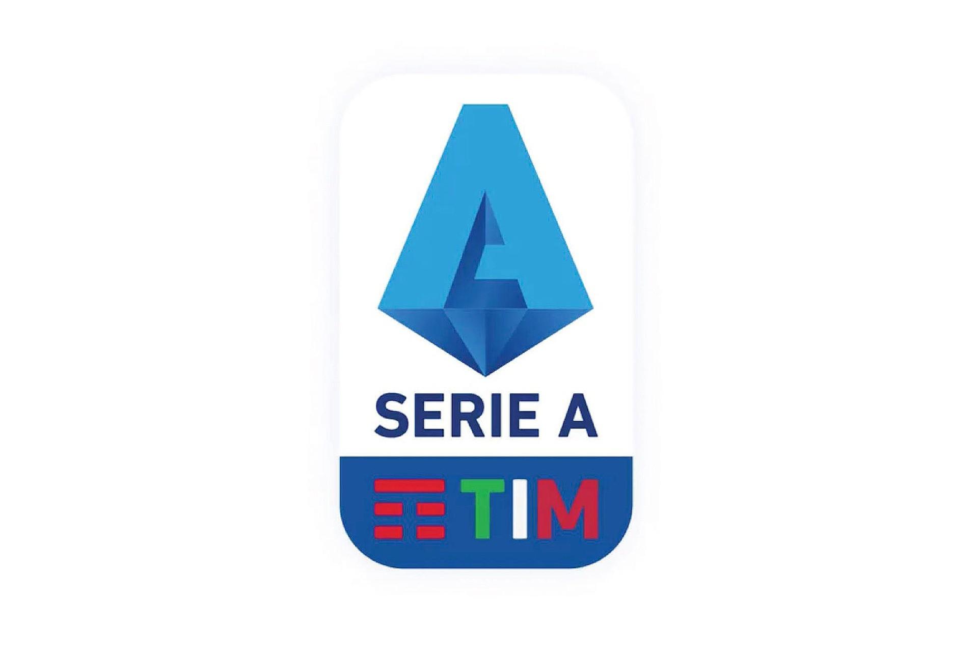 İtalya'nın en üst futbol ligi olan Serie A'nın logosu.