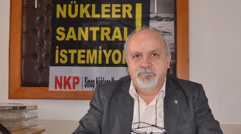 Sinop'ta nükleer karşıtları tepkili