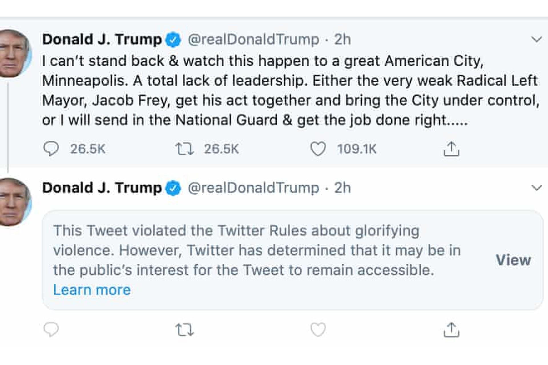 Trump'ın tweetleri