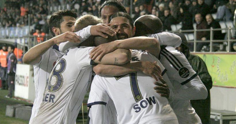 Fenerbahçe'den Rize'de gol şov!