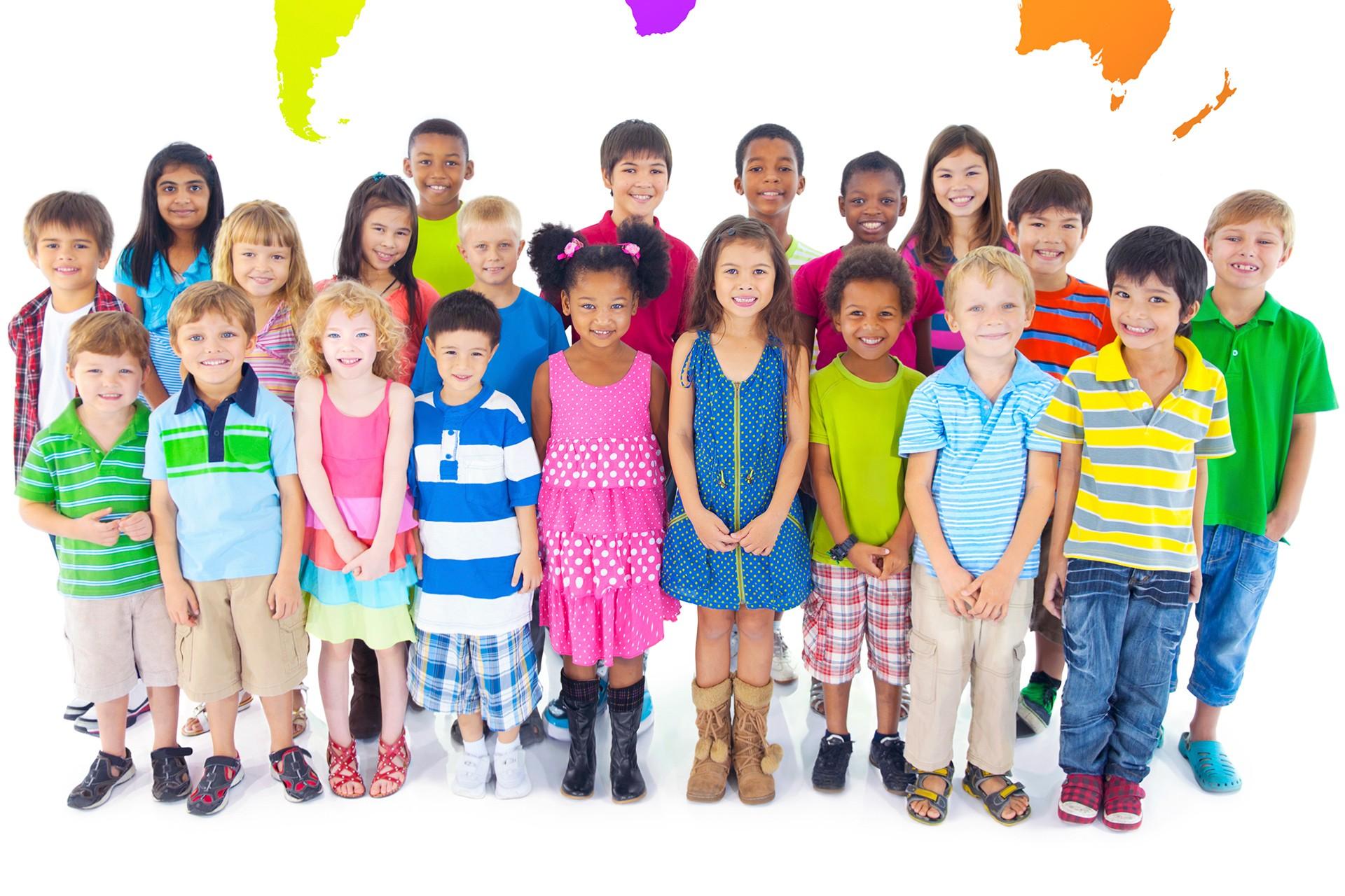 Her ten renginden çocuk