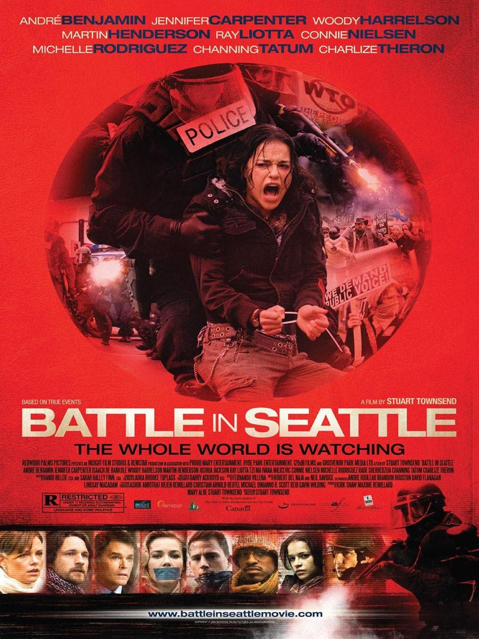 Battle in Seattle filminin afişi
