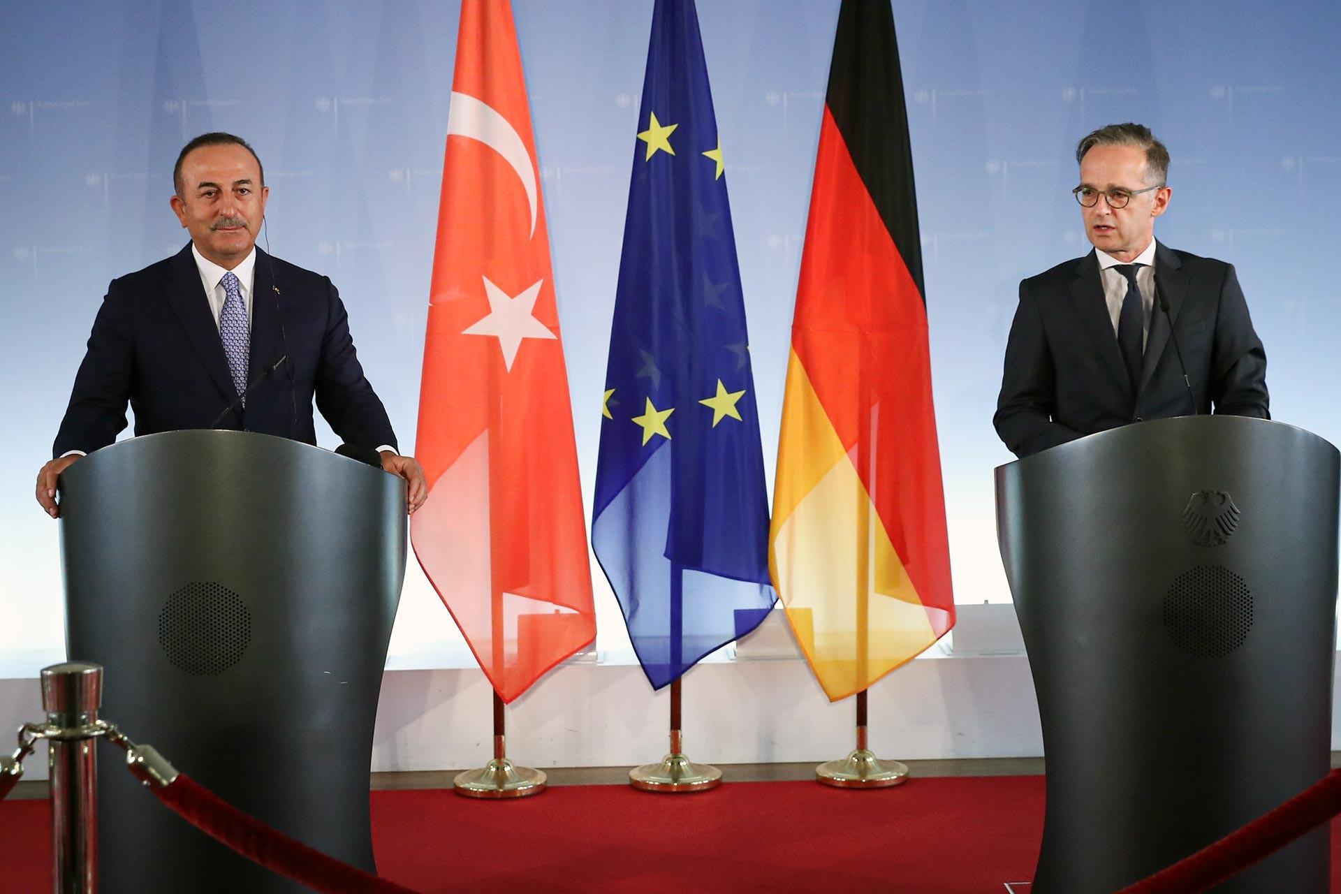 Dışişleri Bakanı Mevlüt Çavuşoğlu ve Almanya Dışişleri Bakanı Heiko Maas'ın ortak basın toplantısı