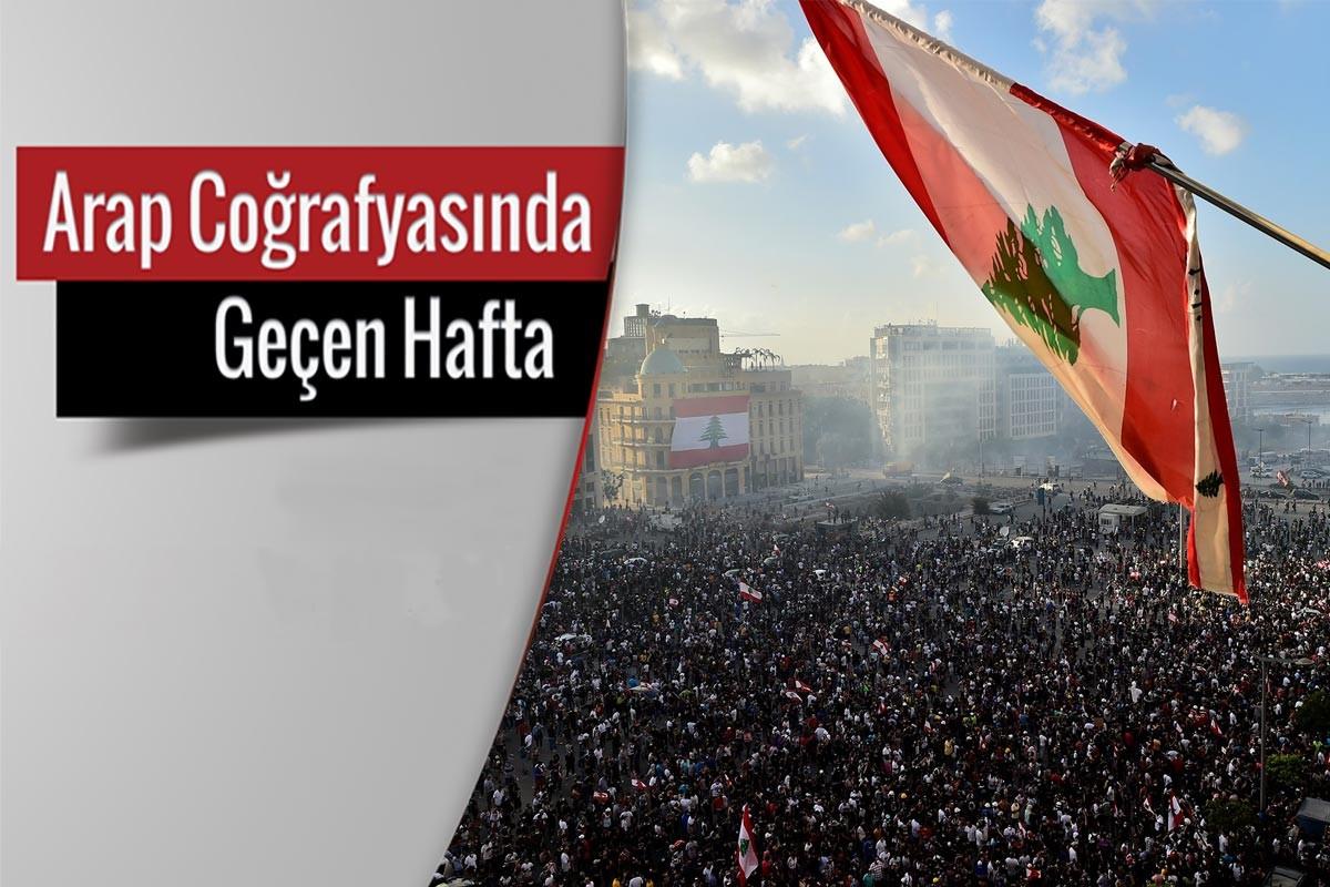 Binlerce Lübnanlı, 4 Ağustos'ta Beyrut Limanı'nda meydana gelen patlamadan sorumlu olan siyasileri ve yetkilileri protesto ediyor.