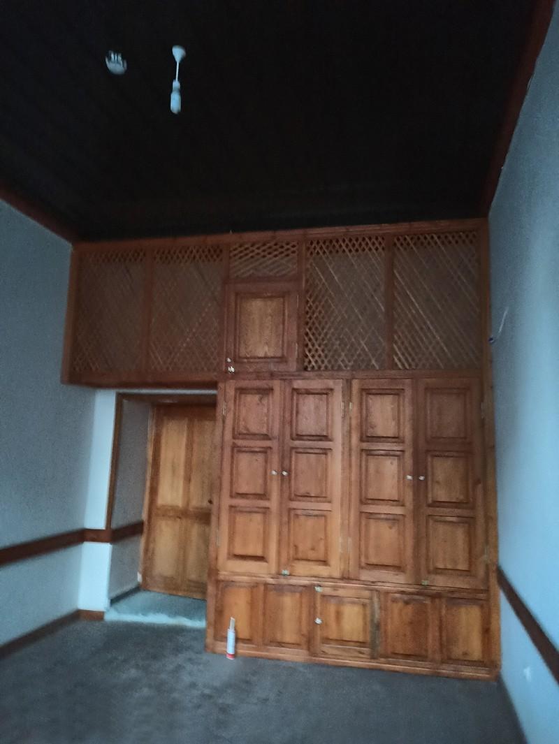 Yüklük olarak kullanılan dolap ve oda