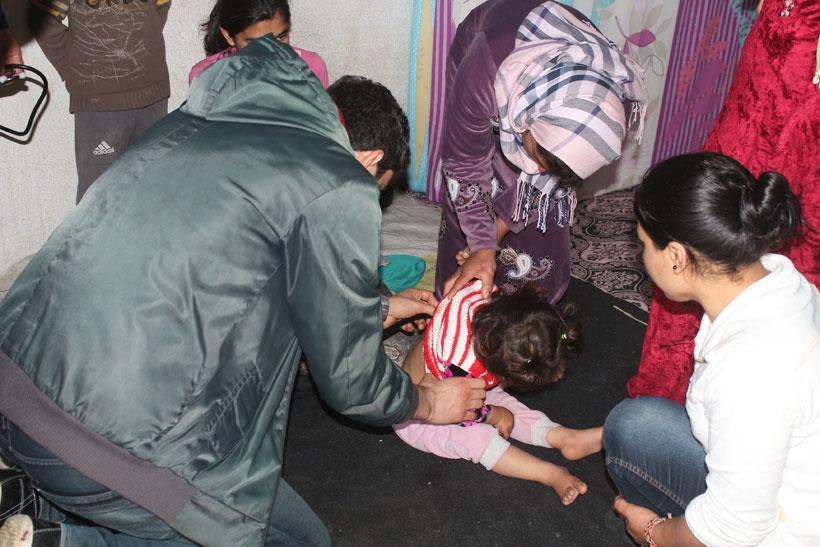 Suriyeliler sağlık hizmeti alamıyorlar