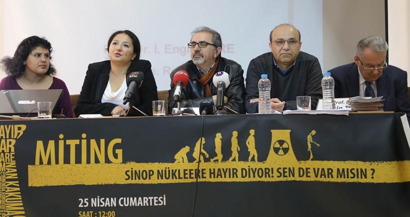 Sinop'taki nükleer karşıtı mitinge çağrı