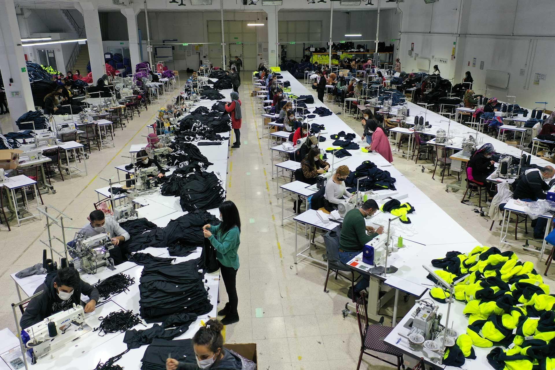Tekstil işçileri