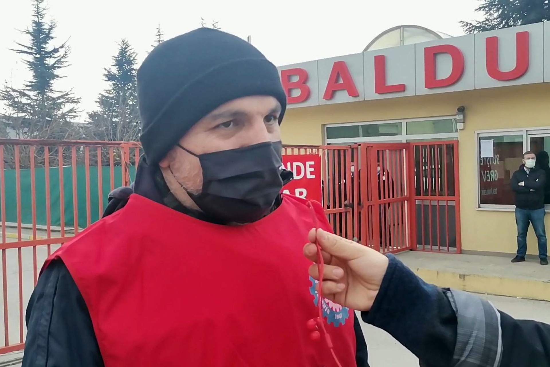 Ferhat Gürsoy, trabajador de Baldur