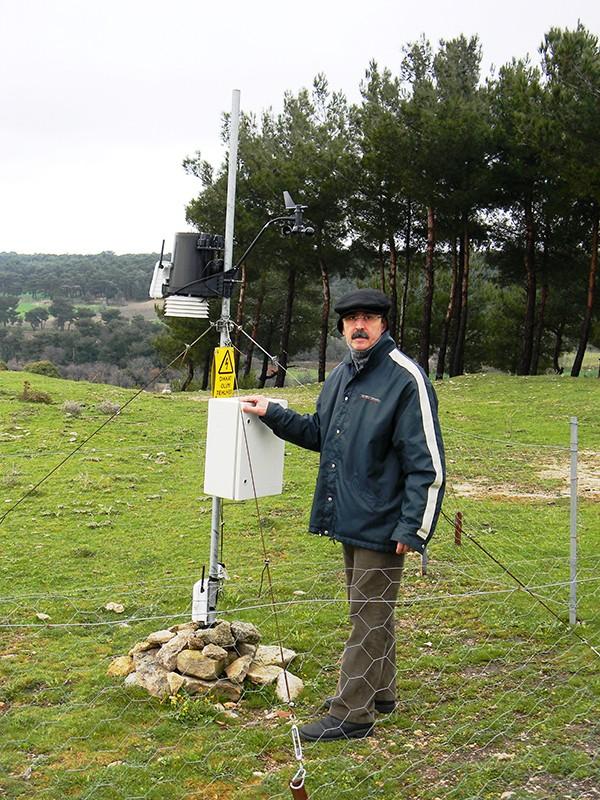 Murat Türkeş saha çalışmasında