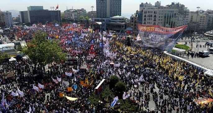 Vali, Taksim 'yasak' dedi