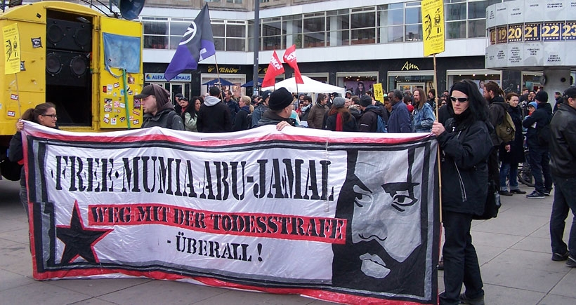 Mumia Abu Jamal serbest bırakılsın!