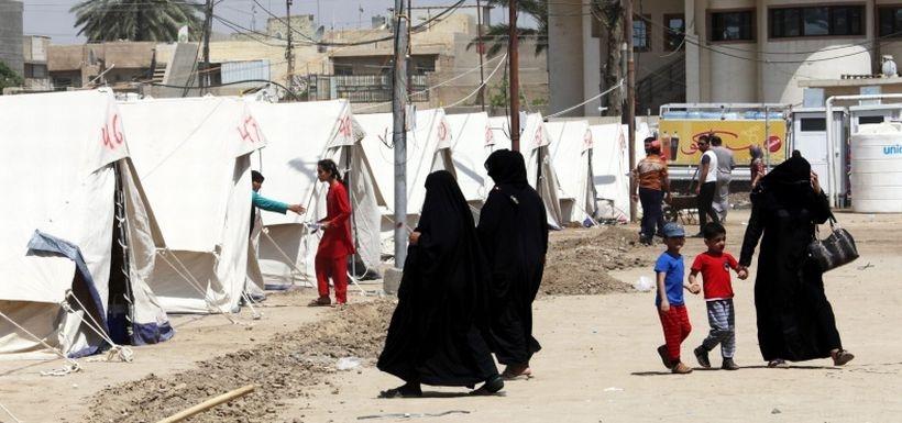 Ramadi'den 114 bin kişi göç etti