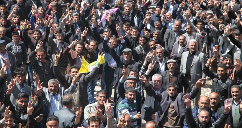 HDP adaylarının seçim çalışmaları sürüyor